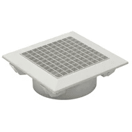 Air Master Plastic Egg Crate, Magnetic Removable Core