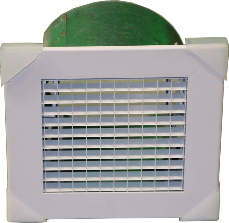 Egg Crate Grille Including Neck Adaptor and Spigot