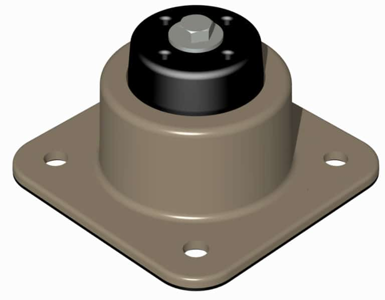 Adjustable Seismic Rubber Mount