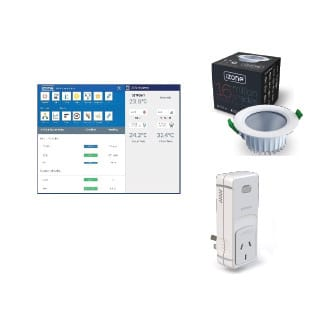 iZone Lights / Power Monitoring / Irrigation